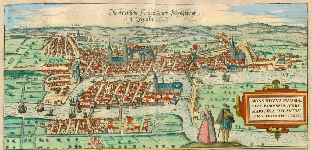 A Short History of Königsberg - Prussian History